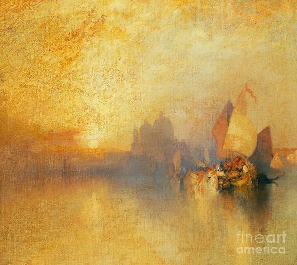 Moran Painting - Opalescent Venice by Thomas Moran