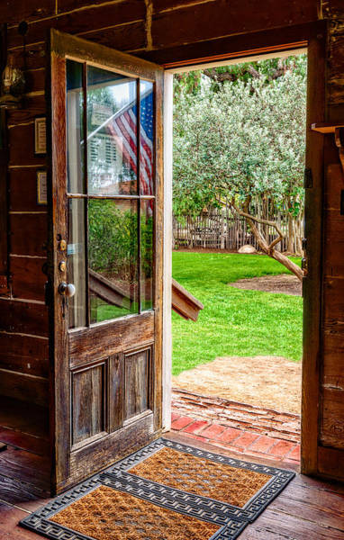 Photograph - Open Door by Christopher Holmes