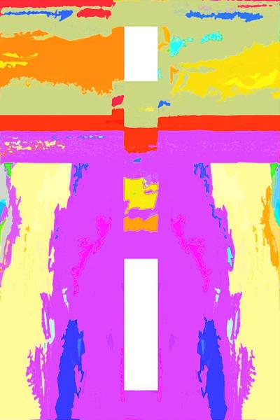 Digital Art - Open Door Five by Payet Emmanuel