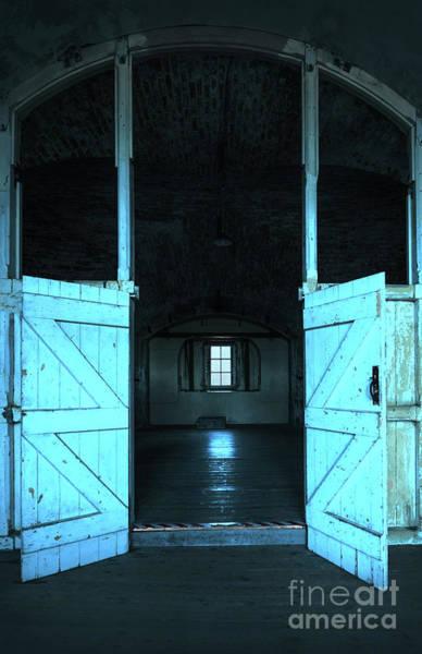 Faded Mixed Media - Open Door by Svetlana Sewell