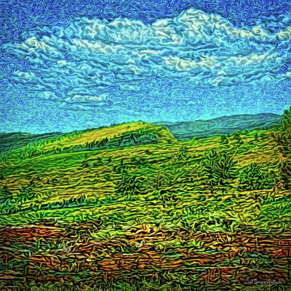 Digital Art - Open Field Dreams by Joel Bruce Wallach