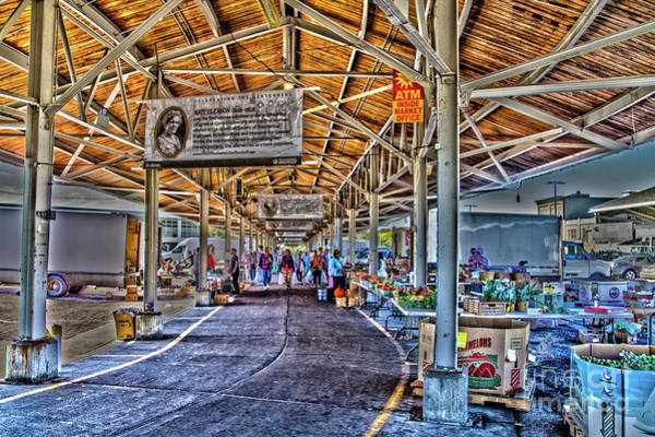 Photograph - Open Market by William Norton