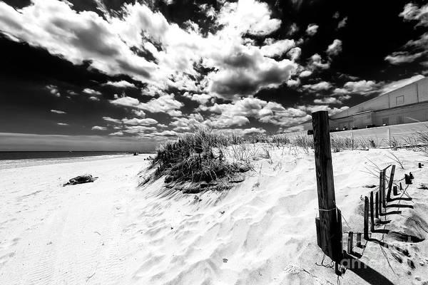 Photograph - Open Sky At Asbury Park Beach 2007 by John Rizzuto