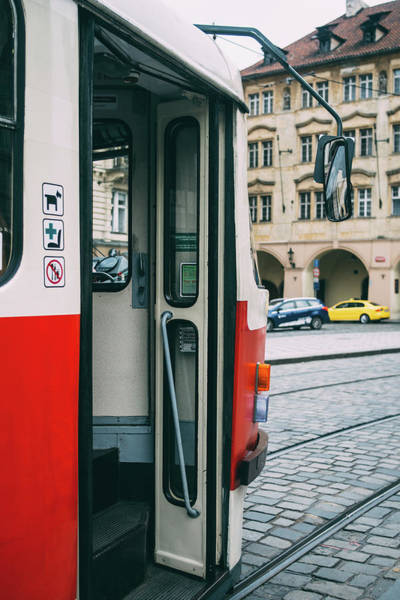 Wall Art - Photograph - Open Tram Door by Pati Photography