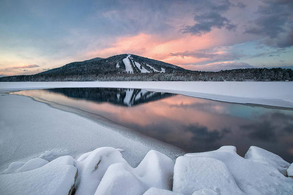 Photograph - Open Water At Pleasant Mountain by Darylann Leonard Photography
