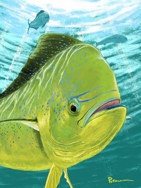 Offshore Wall Art - Digital Art - Open Water by Kevin Putman