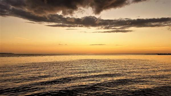 Sunset Wall Art - Photograph - Open Waters by Ric Schafer
