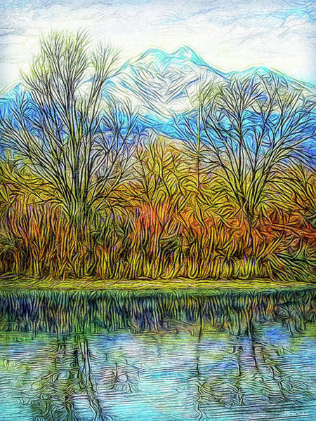 Digital Art - Opening To Stillness by Joel Bruce Wallach