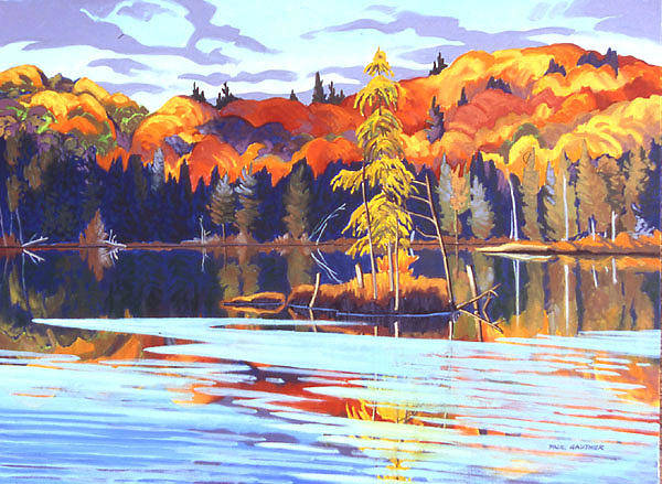 Wall Art - Painting - Opeongo Creek Algonquin by Paul Gauthier