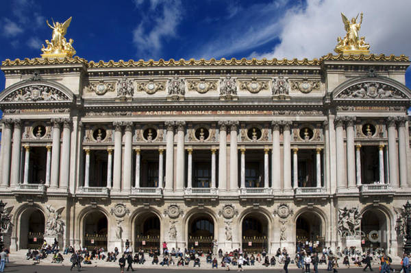 Wall Art - Photograph - Opera Garnier. Paris. France by Bernard Jaubert