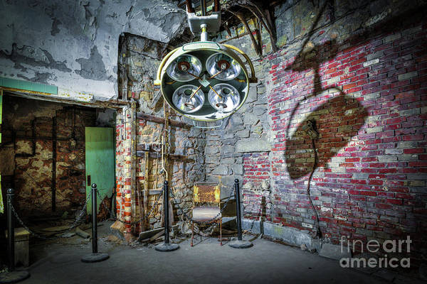 Photograph - Operating Room by Anthony Sacco
