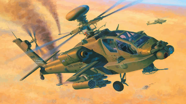 Junkers Digital Art - Operation Apache by Don Kuing