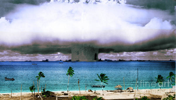 Photograph - Operation Crossroads Baker, 1946 by Science Source