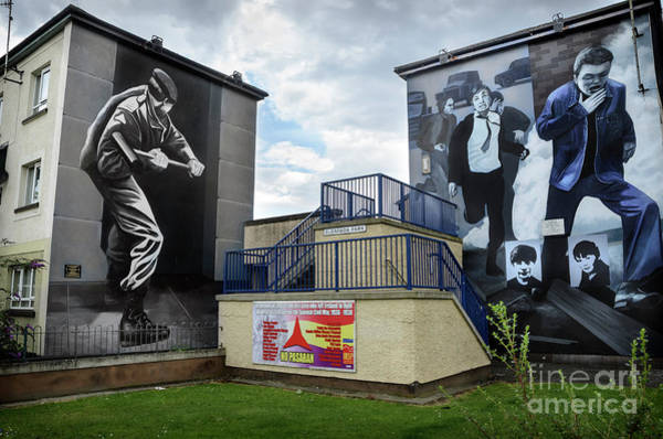 Wall Art - Photograph - Operation Motorman Mural In Derry by RicardMN Photography