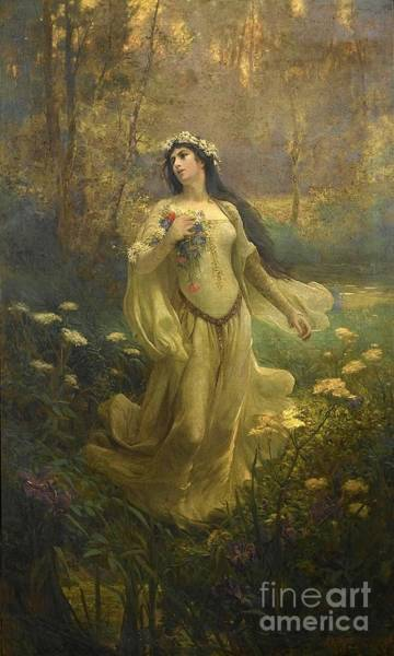 Ophelia Painting - Ophelia by MotionAge Designs