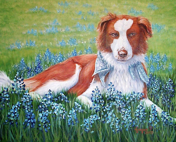 Wall Art - Painting - Opie by Beverly Fuqua