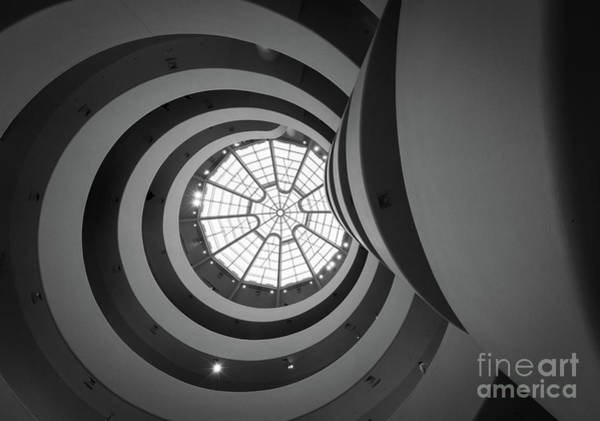 Guggenheim Photograph - Opposing Circles by Inge Johnsson