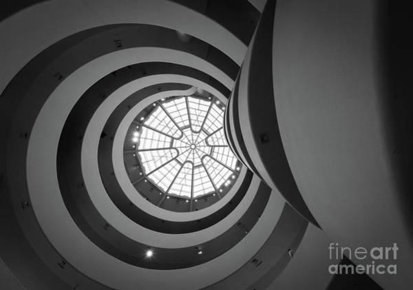Guggenheim Wall Art - Photograph - Opposing Circles by Inge Johnsson
