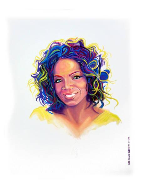 Oprah Wall Art - Painting - Oprah Winfrey by Che Hondo