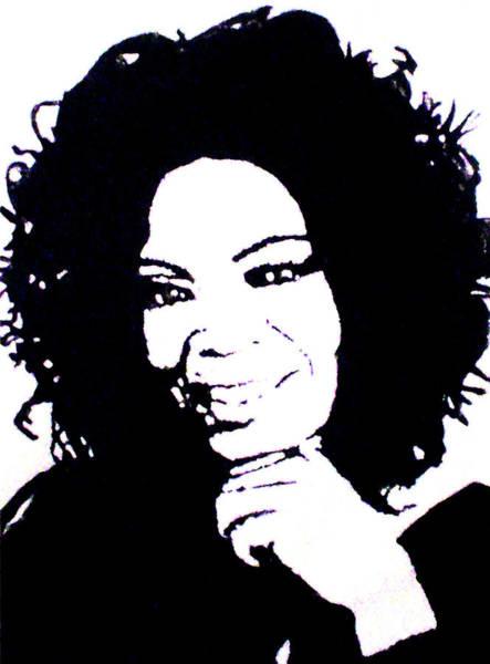 Oprah Wall Art - Painting - Oprah Winfrey by Louise Van Zyl