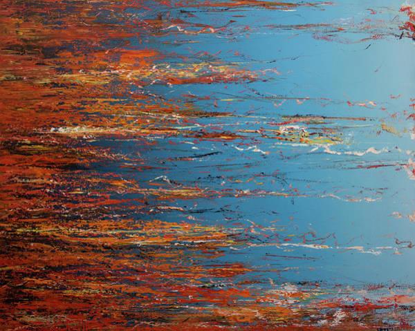 Wall Art - Painting - Opt.18.17 Happy Being A Dreamer by Derek Kaplan