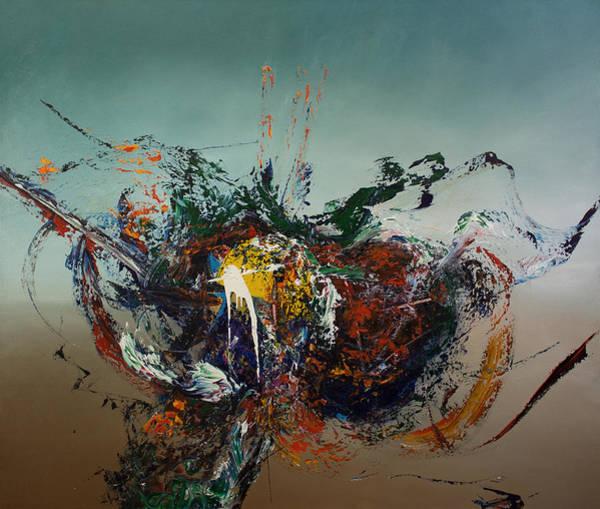 Wall Art - Painting - Opt.2.16 Matador by Derek Kaplan