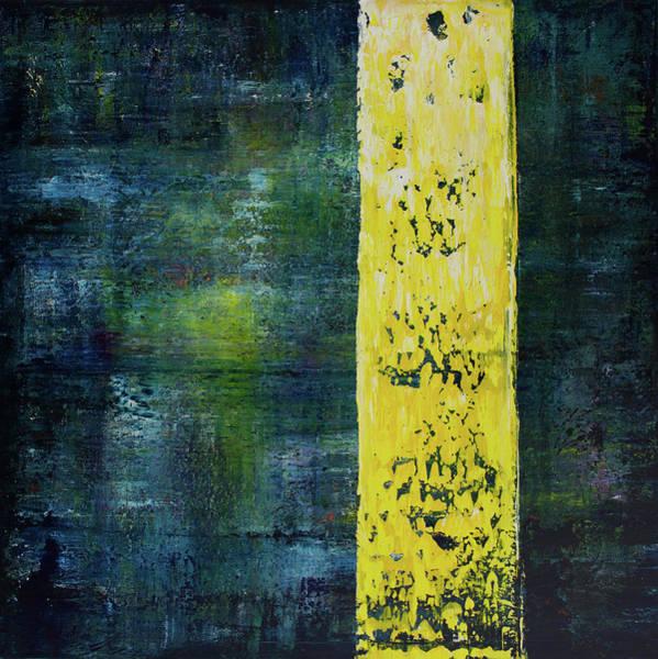Wall Art - Painting - Opt.34.16 Let The Sunshine In by Derek Kaplan
