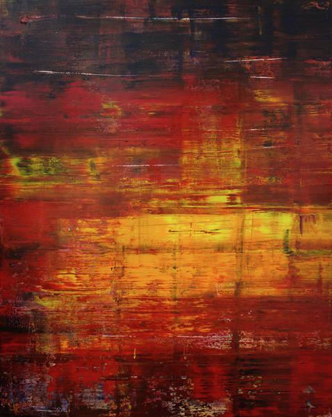 Wall Art - Painting - Opt.60.16 Blaze by Derek Kaplan