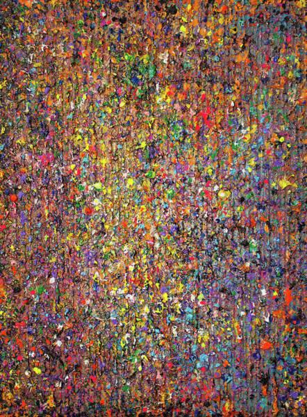 Wall Art - Painting - Opt.62.16 Pretty Things by Derek Kaplan