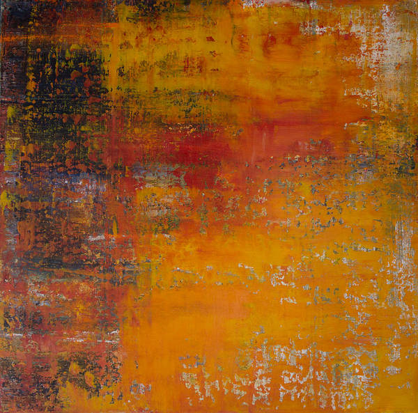 Wall Art - Painting - Opt.89.15 Let The Sunshine In by Derek Kaplan