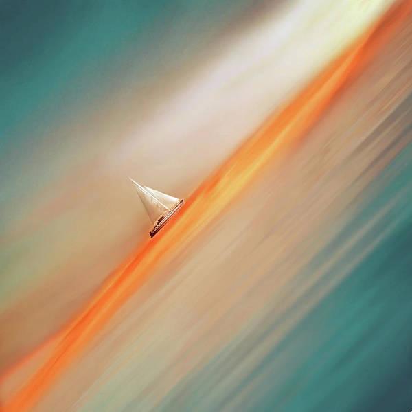 Turquoise Digital Art - Optimist by Jacky Gerritsen