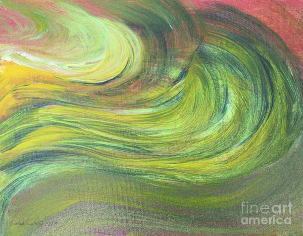 Painting - Optimistic by Sarahleah Hankes