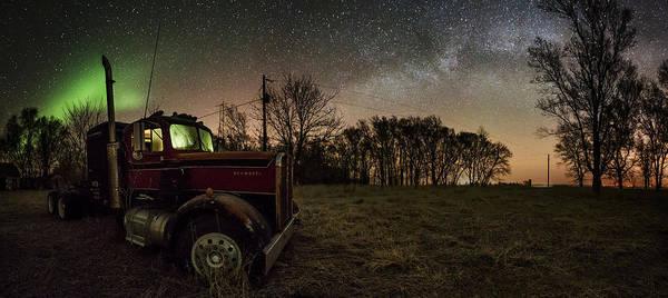 Kenworth Photograph - Optimus Borealis 2 by Aaron J Groen