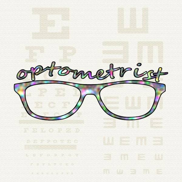 Digital Art - Optometrist by Anastasiya Malakhova