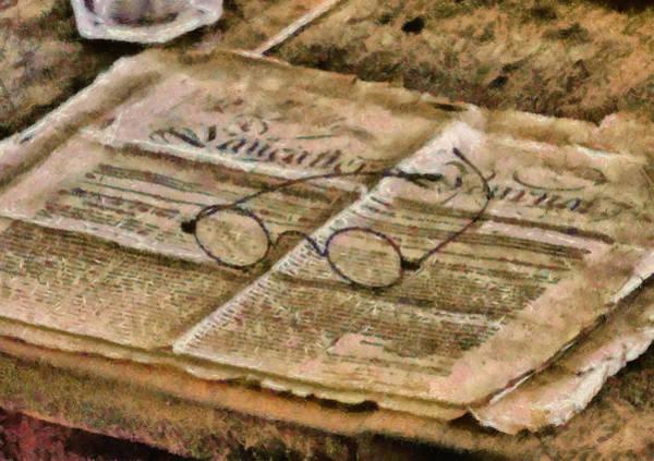 Grandpa Photograph - Optometrist - The Lancaster Journal by Mike Savad