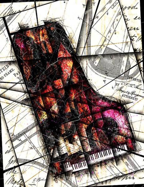Grand Piano Digital Art - Opus  by Gary Bodnar
