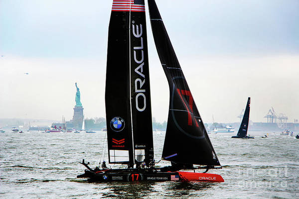 Artemis Photograph - Oracle Team Usa America's Cup New York 1 by Nishanth Gopinathan