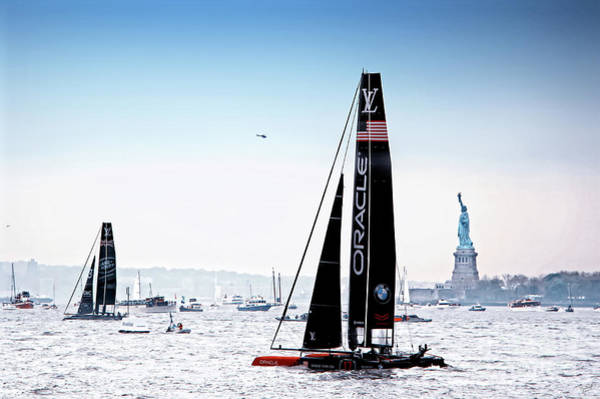 Artemis Photograph - Oracle Team Usa America's Cup New York 4 by Nishanth Gopinathan