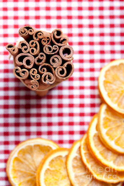 Cookie Wall Art - Photograph - Orange And Cinnamon by Nailia Schwarz