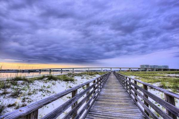 Photograph - Orange Beach Bridge by JC Findley