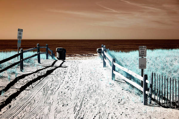 Wall Art - Photograph - Orange Beach Entry by John Rizzuto