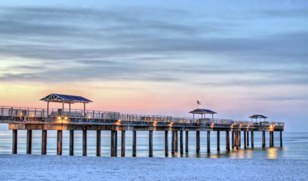 Photograph - Orange Beach Pier by JC Findley