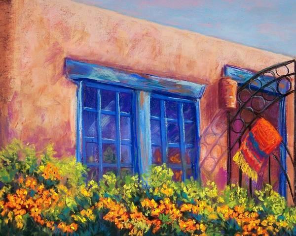 Adobe Wall Art - Pastel - Orange Berries by Candy Mayer