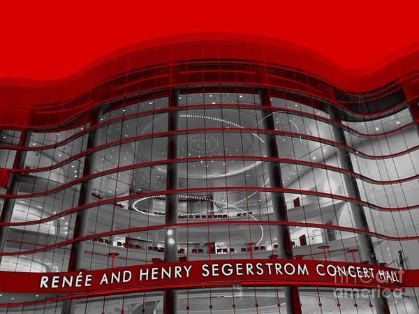 Photograph - Orange County Concert Hall by Jenny Revitz Soper