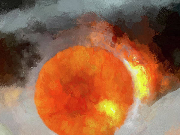 Digital Art - Orange Crush by Matt Cegelis