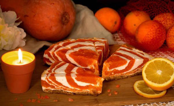 Zebra Cake Wall Art - Photograph - Orange Delicacy by Iryna Goodall