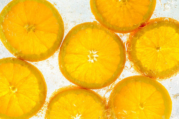 Wall Art - Photograph - Orange Fresh by Steve Gadomski