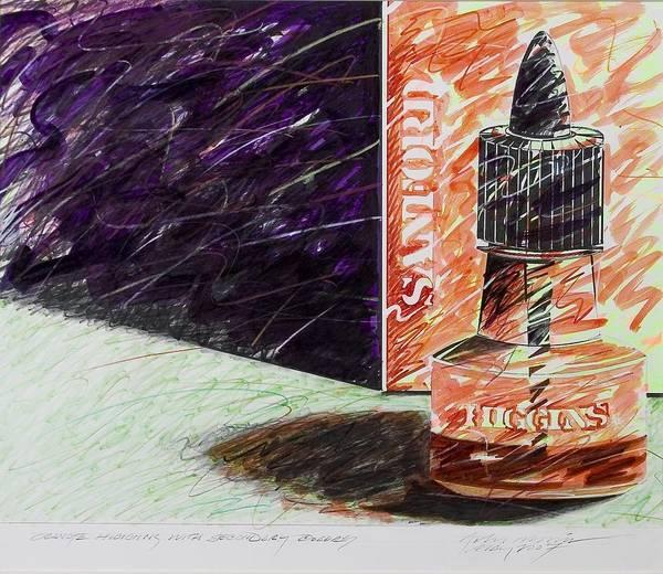 Orange Higgins With Secondary Colors Art Print