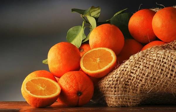 Food And Beverage Digital Art - Orange by Maye Loeser