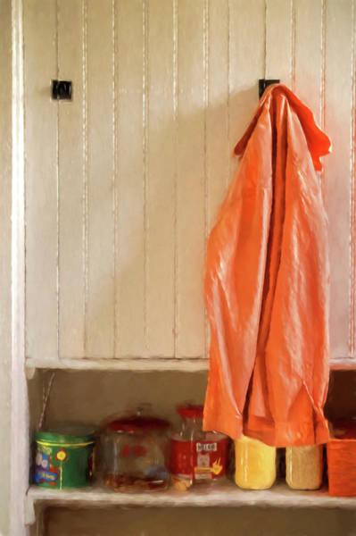 Photograph - Orange Shirt by Tom Singleton